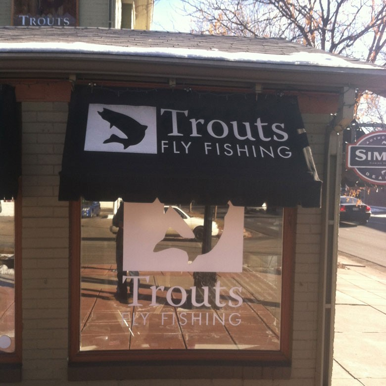 Dec 11th Food Drive & Laser Engraving Party at Trout's Fly Fishing in Denver, CO