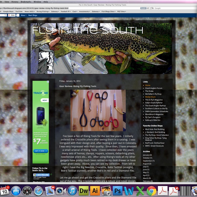Solid Review of our Pliers by FlyInSouth.blogspot..com