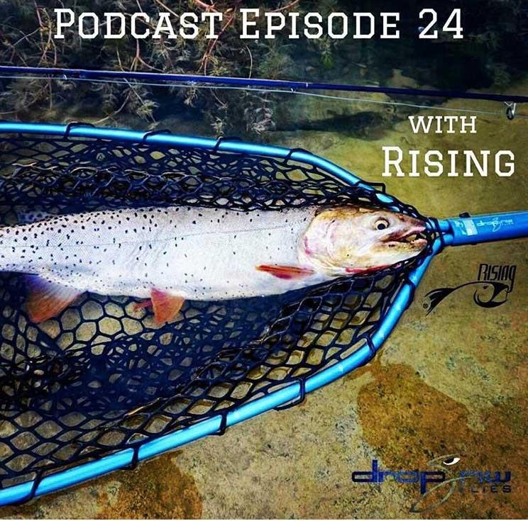 Drop Jaw Flies x RISING Podcast