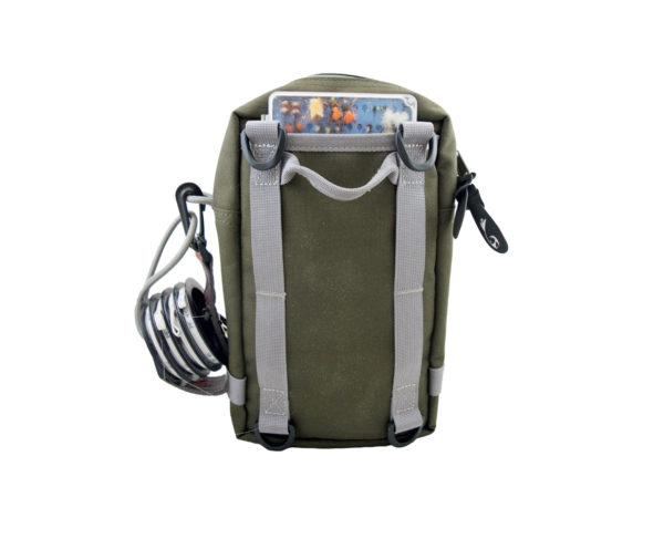 Back view of Flask pack