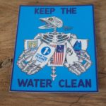 Keep The Water Clean Sticker
