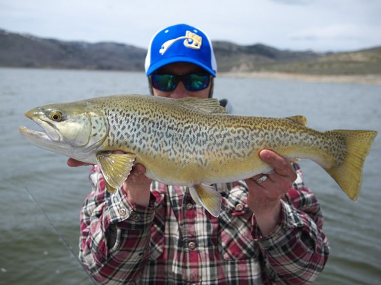 Rising Trolling Crew – showing the reason why they don't only use fly rod to chase fish.