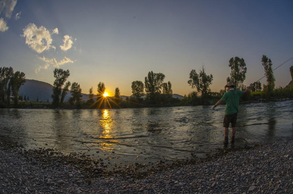 Sunset streamer'ng