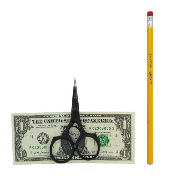 Stellar Scissor Dollar Pencil Comparison