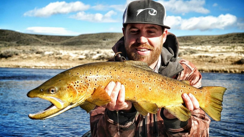 Wyoming Brown brings out the smile in Tanner.
